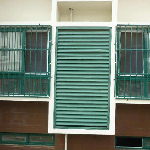 空调外机百叶窗