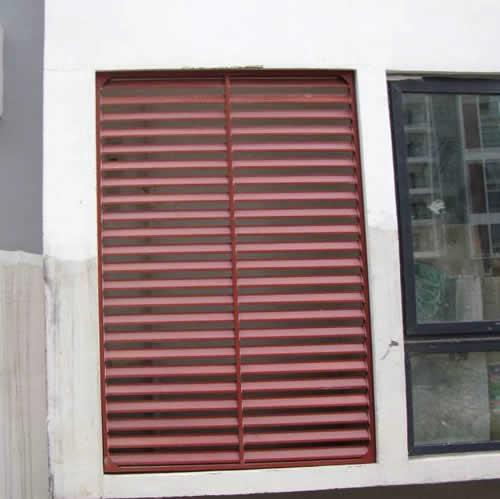 高层空调百叶窗