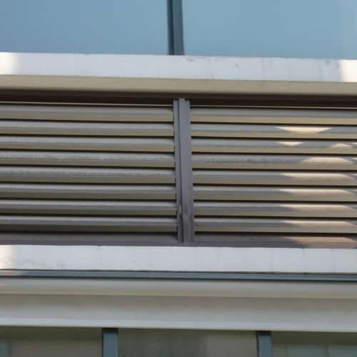 铝合金空调百叶窗