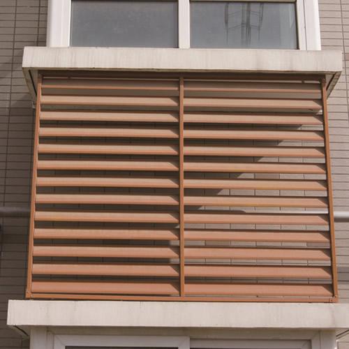 外墙空调百叶窗