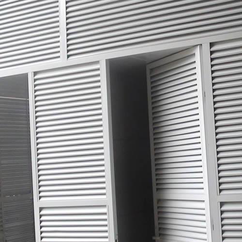 河北锌钢百叶窗