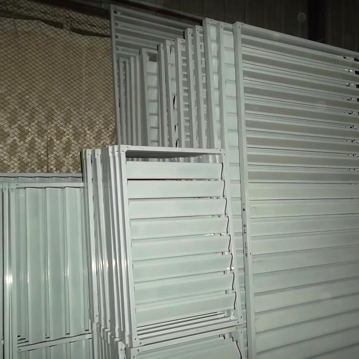 锌钢空调百叶窗